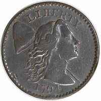 1794 LARGE CENT VF UNCERTIFIED