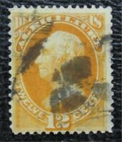 NYSTAMPS US OFFICIAL STAMP  O6 USED $260   U25X654