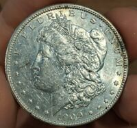 1900-S MORGAN DOLLAR UNC UNCIRCULATED DETAILS CLEANED SILVER $ COIN KEY DATE
