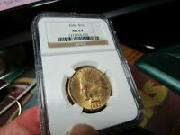 1932 INDIAN HEAD EAGLE  NGC  MS 64  A STUNNING GEM    A 1/2