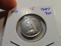 T145 GREAT BRITAIN 1887 3 PENCE