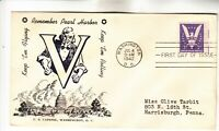905 WIN THE WAR REMEMBER PEARL HARBOR FIRST DAY COVER
