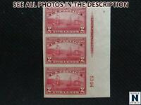 NOBLESPIRIT NO RESERVE } US 373 MLH PLATE NO. STRIP OF 3 W/