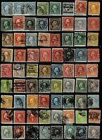 VARIETY COLLECTION UNCHECKED WASHINGTON FRANKLINS   NICE  DE