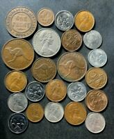 OLD AUSTRALIA COIN LOT   1935 PRESENT   23 EXCELLENT COINS