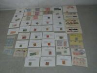 NYSTAMPS E MANY MINT OLD US STAMP COLLECTION PAID LONG AGO H