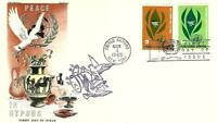 UNITED NATIONS PEACE IN CYPRUS 139 40 FDC OVERSEAS MAILER CA