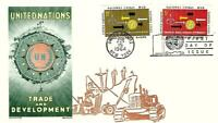 UNITED NATIONS TRADE & DEVELOPEMENT 129 30 FDC OVERSEAS MAIL