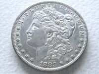 1883-S MORGAN SILVER DOLLAR, R DATE  STRONG DETAILS - 5-L