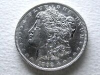 1892 MORGAN SILVER DOLLAR COIN, SEMI-PL STRONG DETAIL  IN PL 5-T