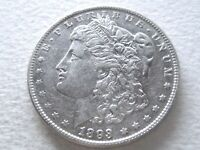 1893 MORGAN SILVER DOLLAR, CHOICE COVETED DATE  STRONG DETAIL 8-T
