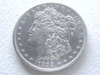 1892-S MORGAN SILVER DOLLAR,  STRONG DETAIL COVETED DATE - 8-Z