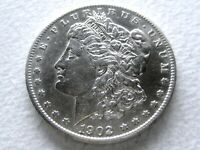 1902-S MORGAN SILVER DOLLAR, SEMI-PL COVETED DATE  STRONG DETAIL 8-M