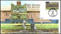 POLO GROUNDS NEW YORK CITY   GIANTS YANKEES   COLLINS HAND P