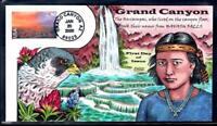 1 WONDER  2000 COLLINS HAND PAINTED FIRST DAY COVER W/ GRAND