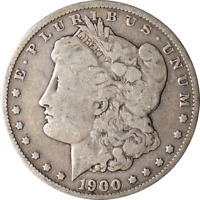 1900-O MORGAN SILVER DOLLAR - VAM 29A  DIE CRACK AT DATE GREAT DEALS FROM THE EX