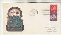 C38 NEW YORK JUBILEE STAEHLE COMBINATION FIRST DAY COVER