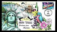 1 WONDER  2002 COLLINS HAND PAINTED FDC W/