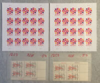 2 SHEETS OF UNITED STATES LOVE FOREVER STAMPS 40 STAMPS W/ E