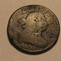 1803 DRAPED BUST HALF CENT PENNY   CIRCULATED CONDITION   16