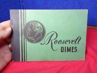 ATTIC FIND   . ROOSEVELT HEAD SILVER DIME COLLECTION