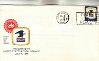 7 1 71 MOUNT VERNON OH FIRST DAY COVER