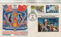 3141 MARSHALL PLAN FLUEGEL FIRST DAY COVER