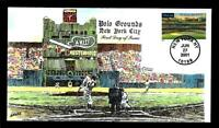 1 WONDER  COLLINS HAND PAINTED FDC W/ POLO GROUNDS NEW YORK