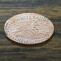 WHITE SANDS NEW MEXICO SMASHED PRESSED ELONGATED PENNY B5356