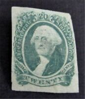 NYSTAMPS US CSA CONFEDERATE STAMP  13 MINT OG H        S24Y8