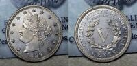 1899 PROOF LIBERTY V NICKEL 5C CHOICE PROOF UNCIRCULATED