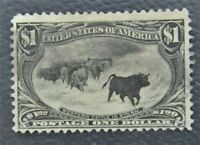 NYSTAMPS US STAMP  292 USED $725       O15Y1414