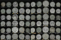 60 BIG SILVER OLD WORLD COINS > SUPER LOT MUST SEE > 29.8 TR