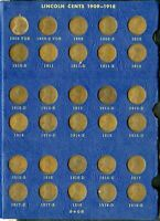 US COINS 1909 1940 LINCOLN WHEAT CENT SET