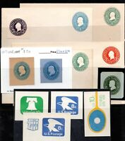 CUT SQUARES AND ENVELOPES USA MINT