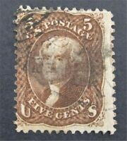 NYSTAMPS US STAMP  95 USED $900 GRILL      O22Y214