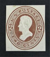 NYSTAMPS US CUT SQUARE STAMP  U128 MH    O22Y898