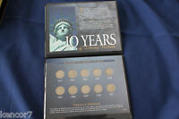 1902 1911 TEN YEARS OF LIBERTY NICKELS COLLECTION OF 10 COINS E2965