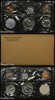 1961 PROOF SET WITH COA   FLAT PACK ORIGINAL ENVELOPE   US MINT SILVER COINS MQ