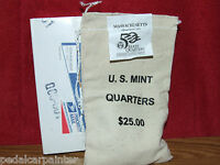 2000 P MASSACHUSETTS $25 QUARTERS MINT SEWN SEALED BAG US MINT ISSUED