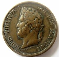 COLONIE   LOUIS PHILIPPE IER   10 CENT   1843