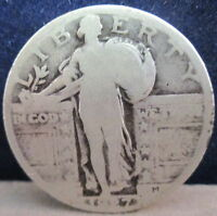 1927 STANDING LIBERTY SILVER QUARTER-GOOD              S-144