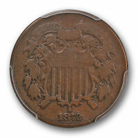 1872 PROOF 2C TWO CENT PIECE PCGS PR VG 10  GOOD TO FINE