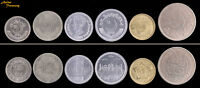 PAKISTAN 6 NEW CURRENT COIN SET 25 50 PAISA 1 2 5 RUPEE COMMEMORATIVE 2015