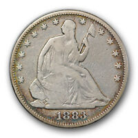 1883 50C LIBERTY SEATED HALF DOLLAR GOOD VG LOW MINTAGE R422