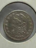 1830 SILVER 5 CENT PIECE UNITED STATES HALF DIME