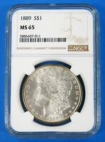 1879 S MINT STATE 67 $1 MORGAN SILVER DOLLAR NGC CERTIFIED UNITED STATES COIN