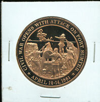 HISTORICAL USA  FRANKLIN MINT MEDAL SET OF 6 LATE 1700S EARLY 1800S S134B