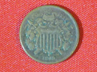 1865  TWO CENT PIECE /  SURPRISE FOR A YOUNG COLLECTOR WE IS VISIBLE