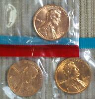 1970 P D S BU LINCOLN CENT IN MINT SET CELLO BEST VALUE @ CHERRYPICKERCOINS